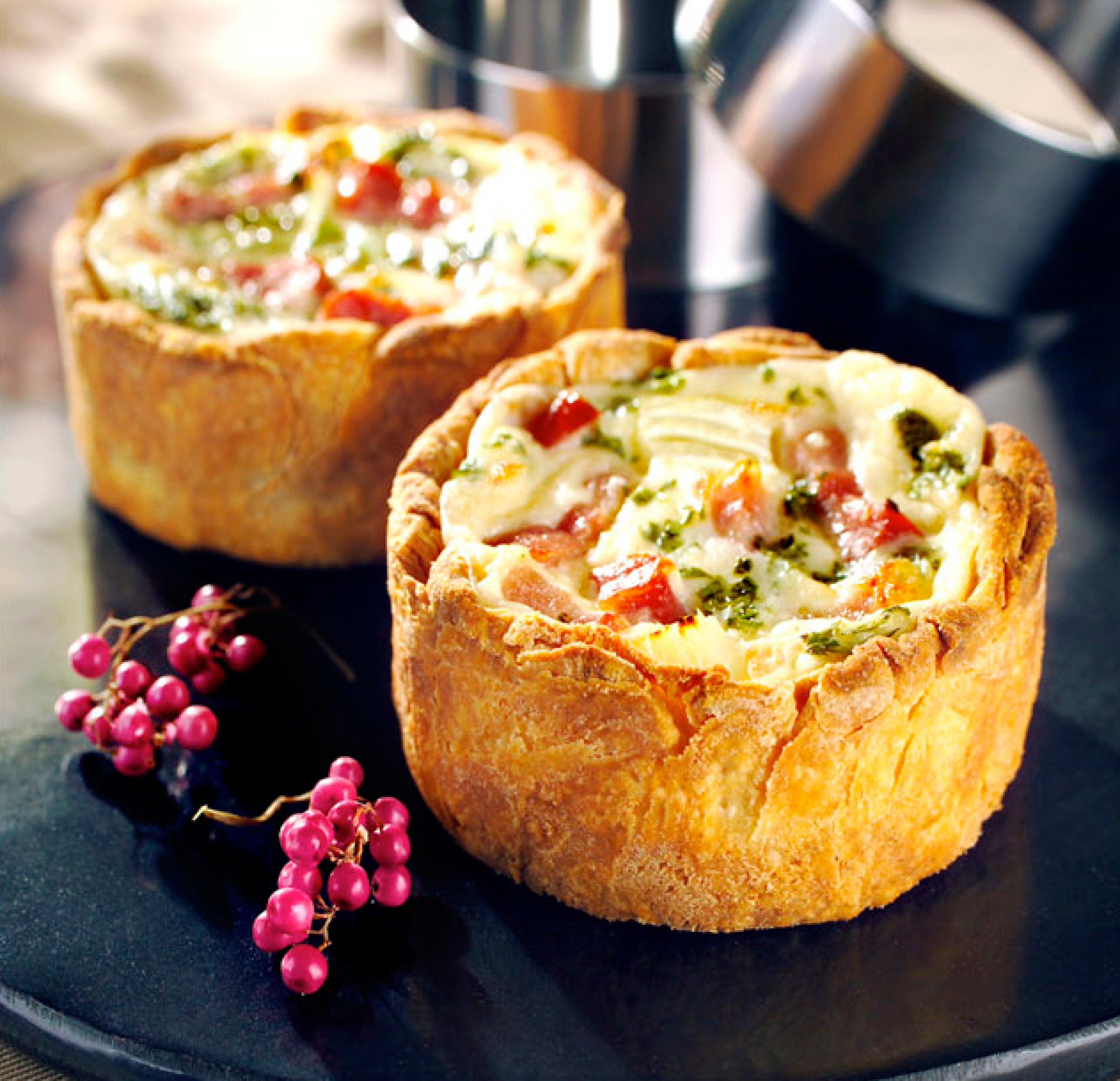 Classic quiche lorraine lacanche range cookers and for Quiche not setting