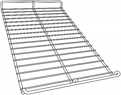 Dropped Oven Rack