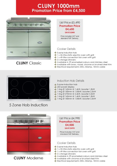 Lacanche Classic & Moderne 2015 Promotions Page 4