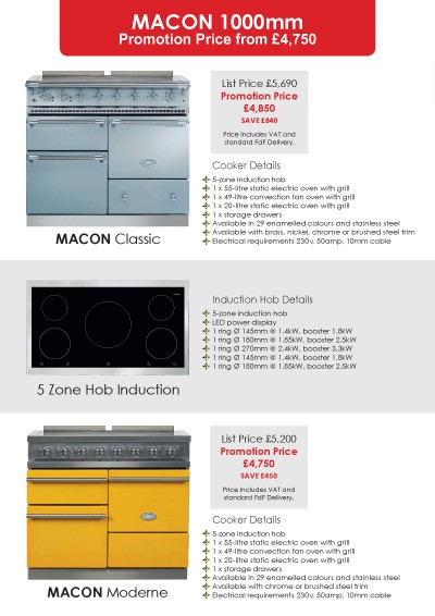 Lacanche Classic & Moderne 2015 Promotions Page 5