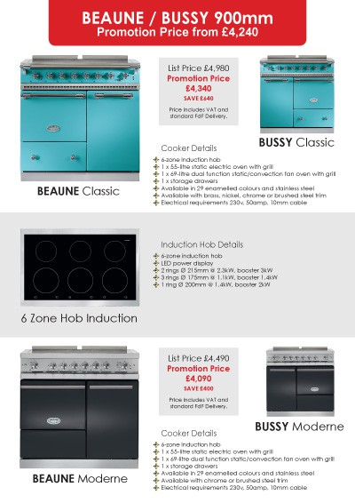 Lacanche Classic & Moderne 2015 Promotions Page 3