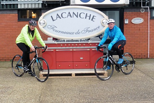 Lacanche 25th Anniversary London to Paris Charity Cycle Ride