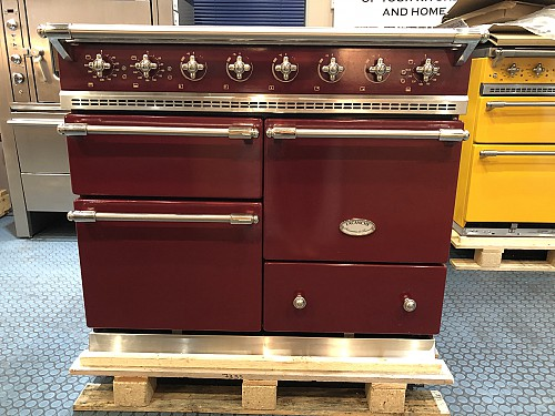 Lacanche Classic Macon 1000mm Red Burgundy / Nickel