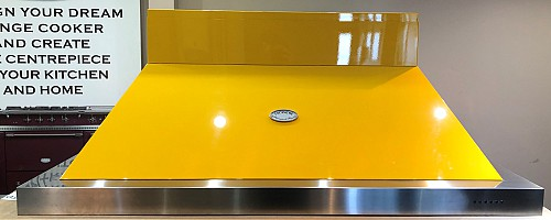 Lacanche Brasserie Hood 1500mm Provence Yellow / Nickel