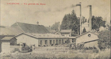 Lacanche factory late 19th Century